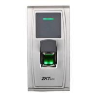 Lector biométrico por huella y/o tarjeta EM RFID  -  Apto para instalación exterior