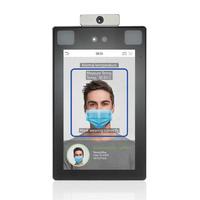 ProfaceX-TD  |  ZkTeco  -  Terminal de control de Accesos | Reconocimiento  Facial,  Palma con detección de fiebre