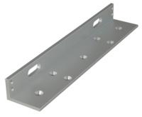 """Soporte de aluminio en """"L"""" para retenedores electromagnéticos de 300 Kg"""