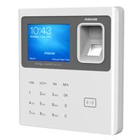 W1-PRO  |  ANVIZ  -  Control de Presencia autónomo  -  Identificación por tarjeta EM 125 KhZ, huella dactilar, contraseña y/o combinaciones