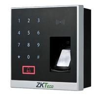 X8-BT  |  ZkTeco  -  Lector biométrico por huella - Teclado y Tarjeta EM RFID  para control de Accesos y Presencia  -  Bluetooth
