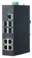 XS-SW09-GF     X-SECURITY     Switch de 5 puertos RJ45 10/100/1000 Mbps + 4 puertos SFP Gigabit